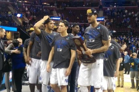 Videos and pictures from after Kentucky's Elite Eight win