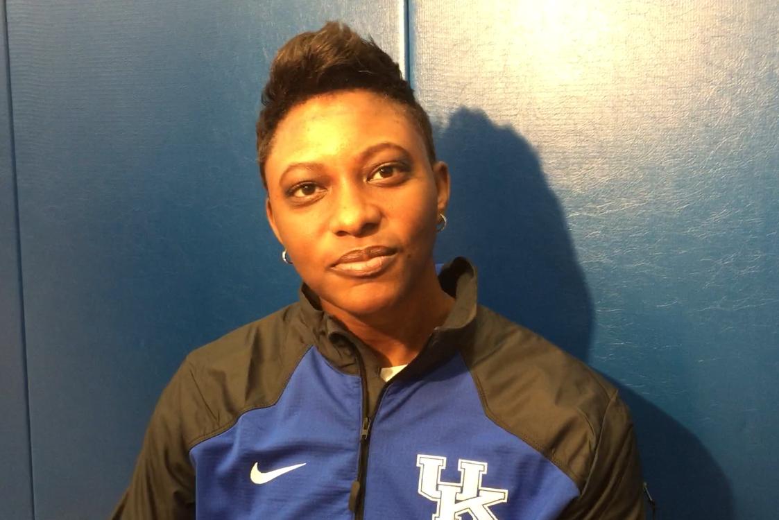 Kentucky women's basketball assistant Niya Butts