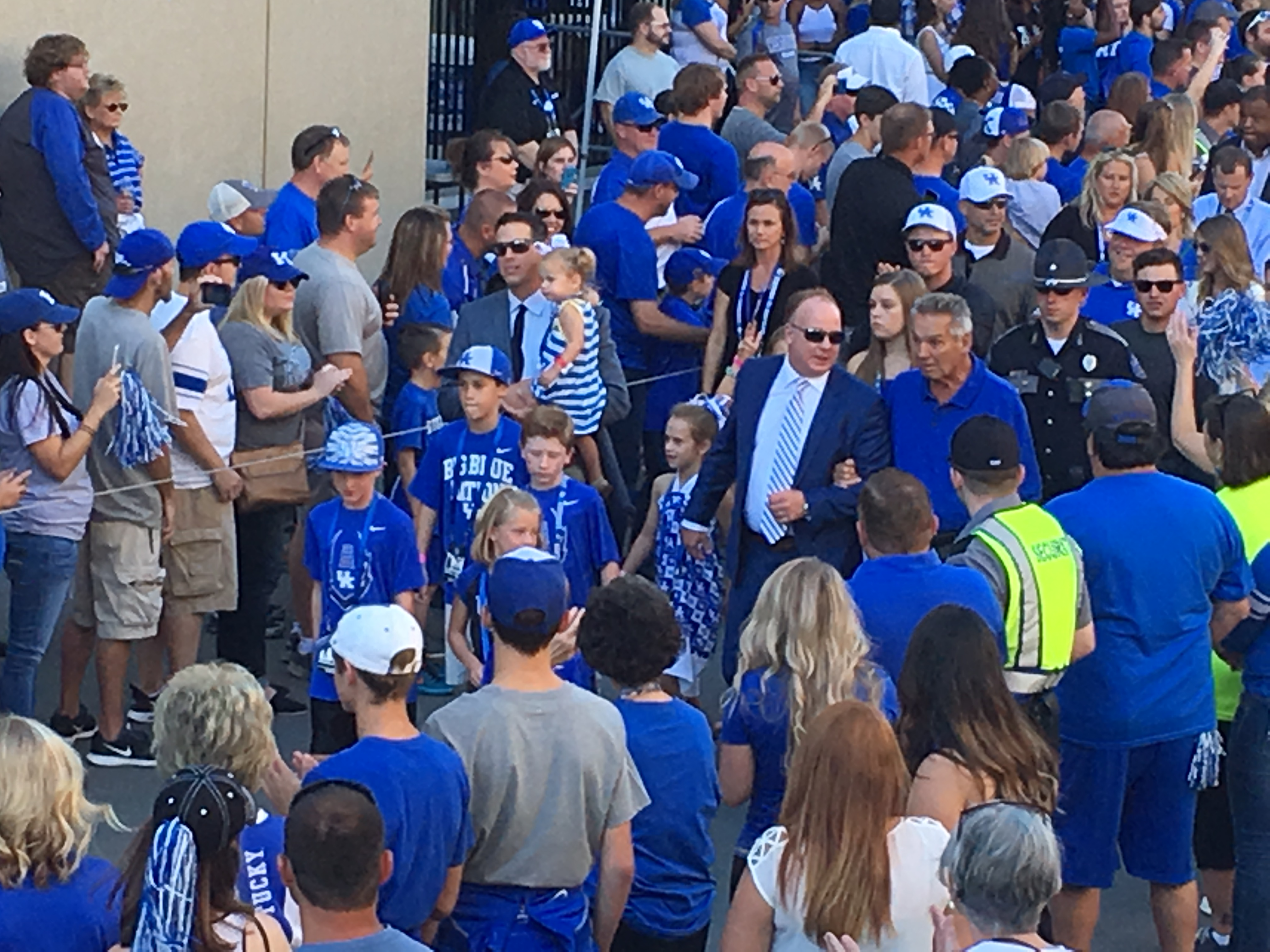 Coach Stoops and Talbott Todd