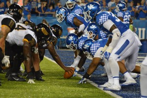 Kentucky couldn't keep USM out of the end zone with its run game
