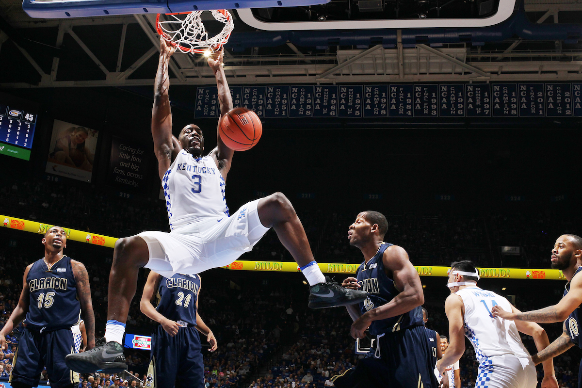 Bam Adebayo. Photo by Chet White | UK Athletics