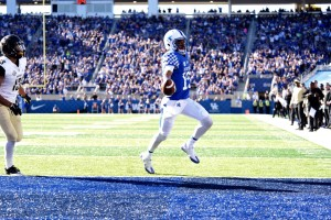 Stephen Johnson will lead the first-team UK offense in Friday's spring game
