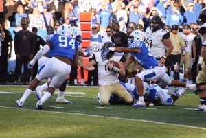 Kentucky's defense showed up big inthe win over Vandy (Photos by Brandon Turner)