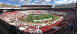 Bryant-Denny Stadium in Tuscaloosa is one tough place to visit