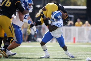 The Kentucky defense held Missouri to just four conversions on 25 third-down attempts. Photo by Chet White | UK Athletics