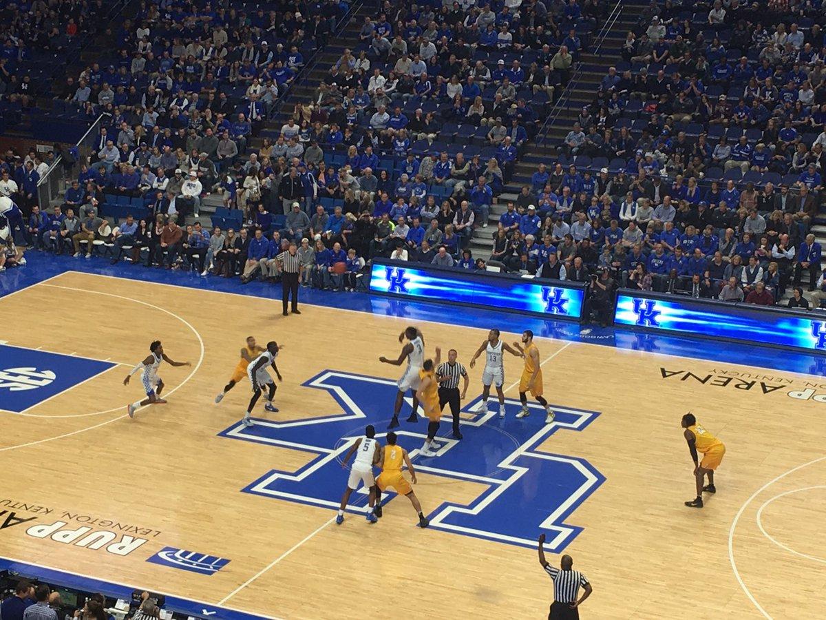 Kentucky 87, Valpo 63: game wrap up