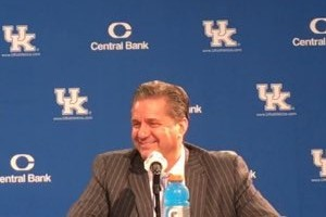 John Calipari says trust is the issue when it comes to mistakes his team is making on defense (photo by Curtis Burch)