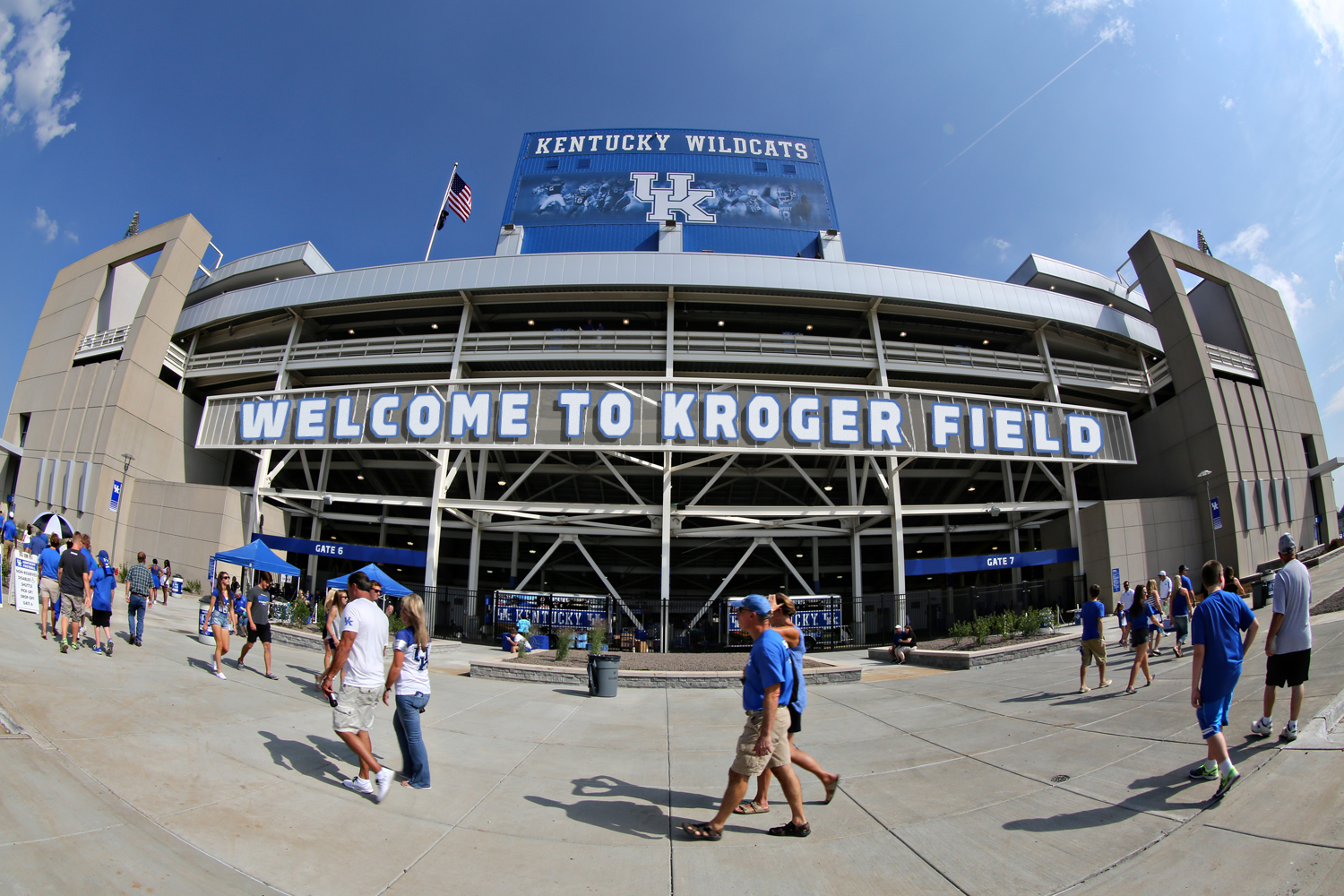 From UK Athletics (just a rendering. Design of logo and signage is in progress.)