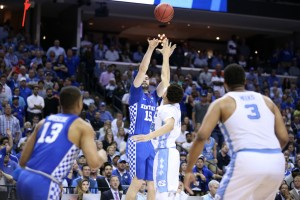 Humphries poured in 12 points in 21 minutes, helping the Wildcats take a five-point lead with five minutes left (Photo by Chet White | UK Athletics)