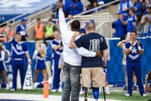 Heroes' Day Set for UK Football Home Opener