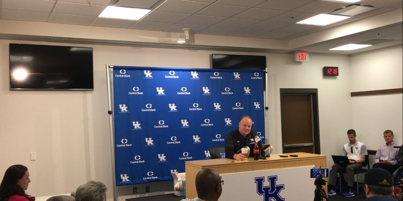 Mark Stoops Monday press conference pre South Carolina