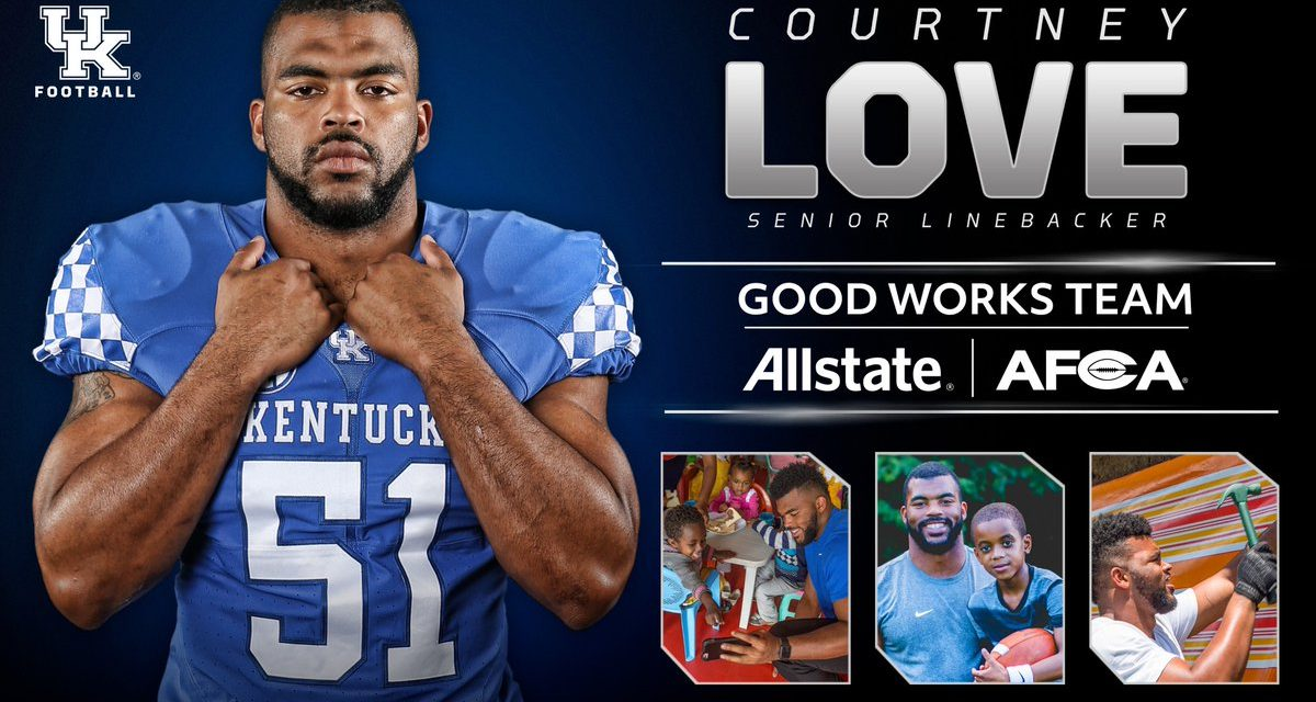 Courtney Love Named to 2017 Allstate AFCA Good Works Team®