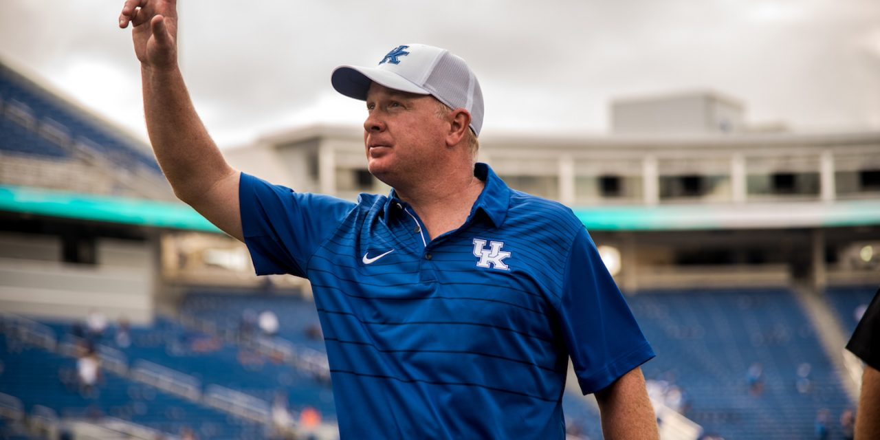 Mark Stoops after UK's win over CMU