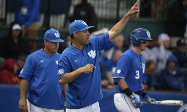 Career Outing From Justin Lewis Gives UK 3-2 Win in Series Finale