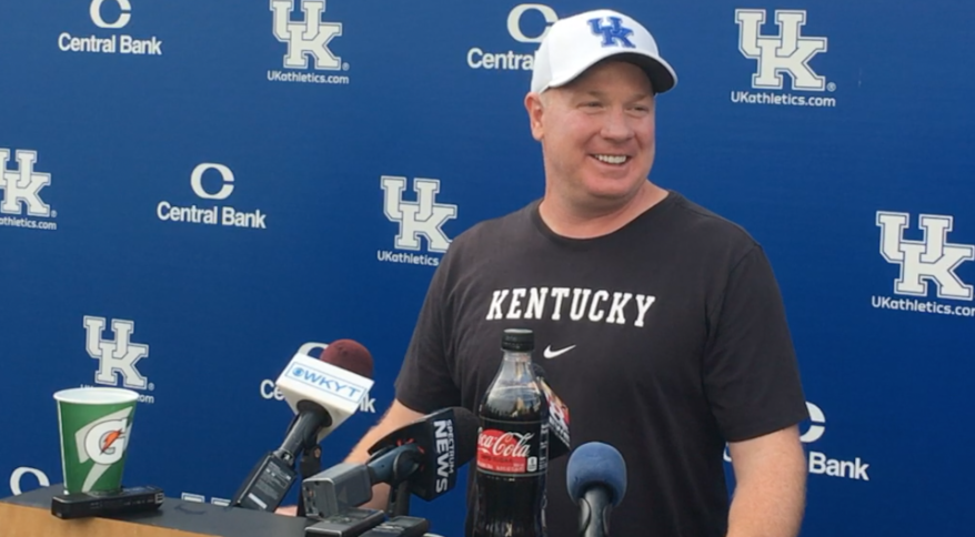 Mark Stoops Friday pre Southern Miss