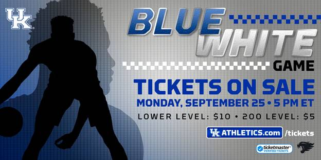Blue-White Game Tickets Set to Go on Sale Sept. 25 at 5 p.m. ET