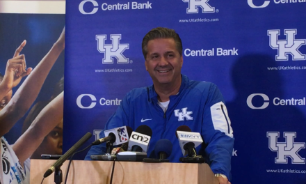John Calipari on Media Day