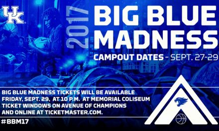 Big Blue Madness Tickets to be Distributed Sept. 29