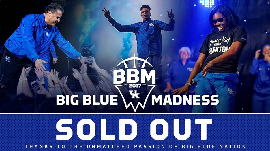 Big Blue Madness Tickets Sold Out