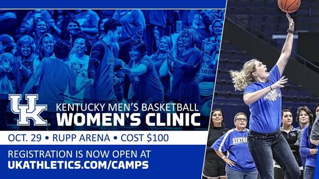 2017 John Calipari Women's Clinic Set for Oct. 29 in Rupp Arena