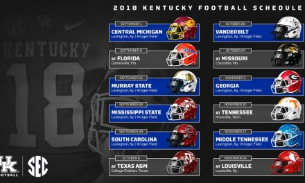UK Announces 2018 Football Schedule