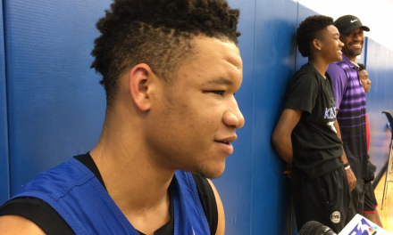 Kevin Knox and Shai Gilgeous-Alexander on major awards and SEC Tournament