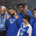 Big Blue Madness 2017; Drake makes the crowd go crazy
