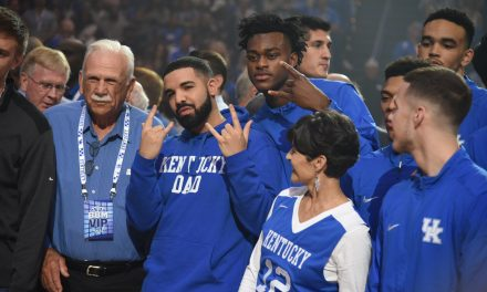Big Blue Madness 2017; Drake makes the crowd go crazy