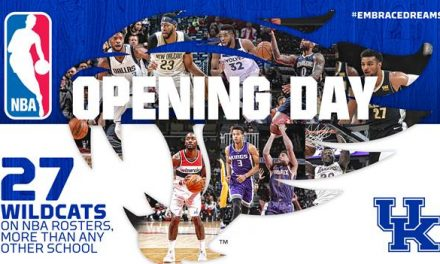 UK Leads the Nation with 27 Players on NBA Opening-Day Rosters