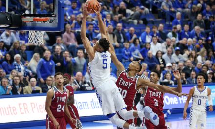 Kentucky/Troy 3,2,1 breakdown
