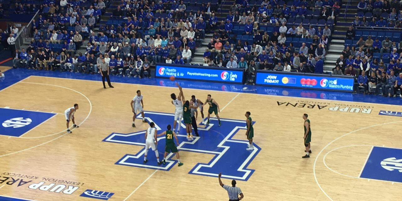 Kentucky 73, Vermont 69 game wrap up
