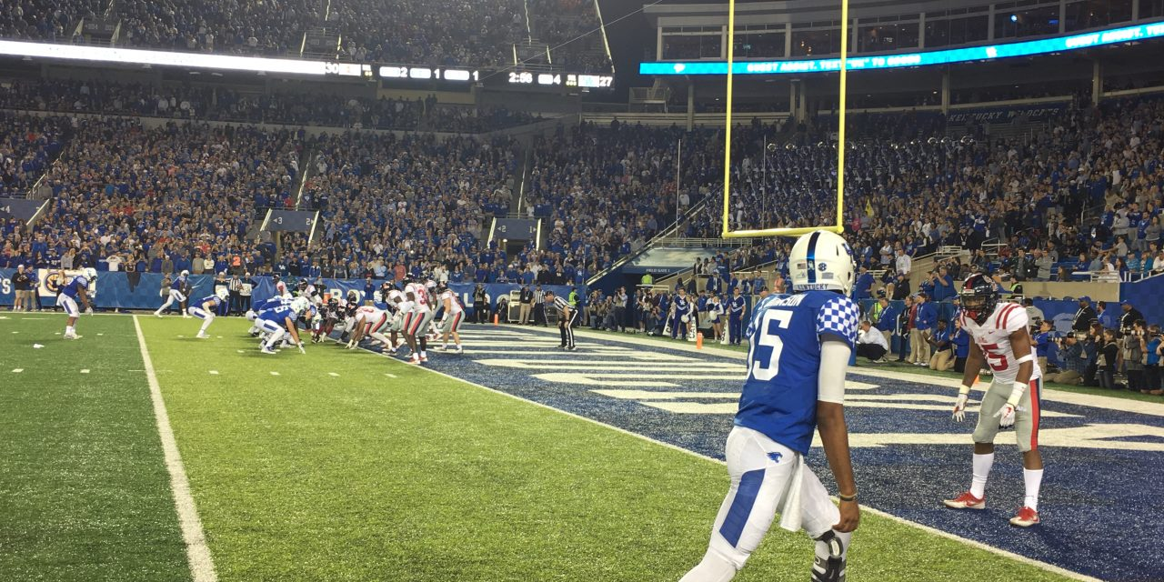Ole Miss 37, Kentucky 34 game wrap up