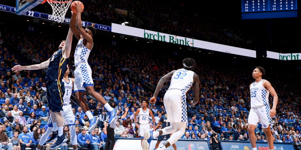 Kentucky 78, ETSU 61 game wrap up