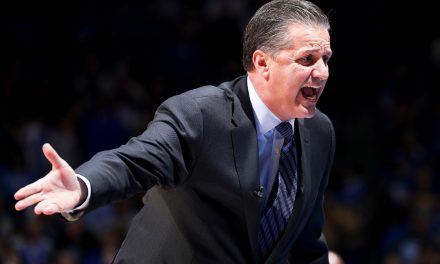 John Calipari post Winthrop