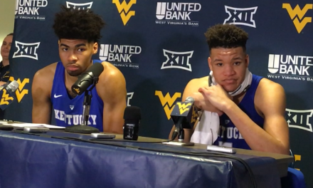 3,2,1 breakdown of Kentucky's win at WVU