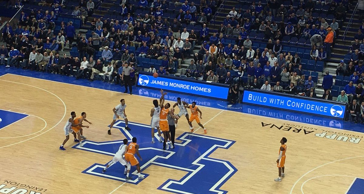 Tennesse 61, Kentucky 59 game wrap up