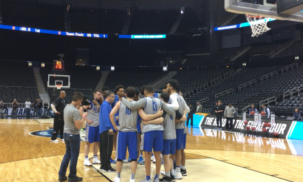 Kentucky's open practice before Sweet 16 against Kansas State