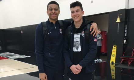 Interviews with Tyler Herro and Keldon Johnson