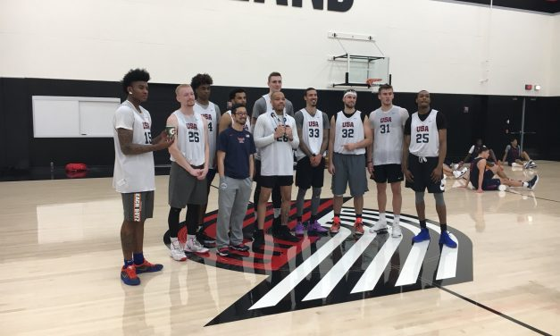 Nike Hoop Summit post scrimmage report and interviews