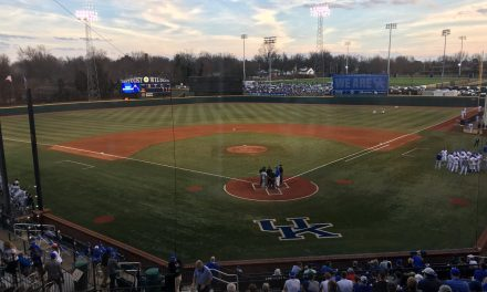 Kentucky Falls in Series Opener Between Top 10 Teams