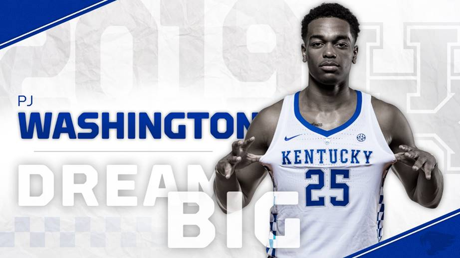 Washington to Return to Kentucky for Sophomore Season