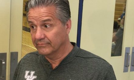 "Calipari is ""fine"" with SEC conference schedule"