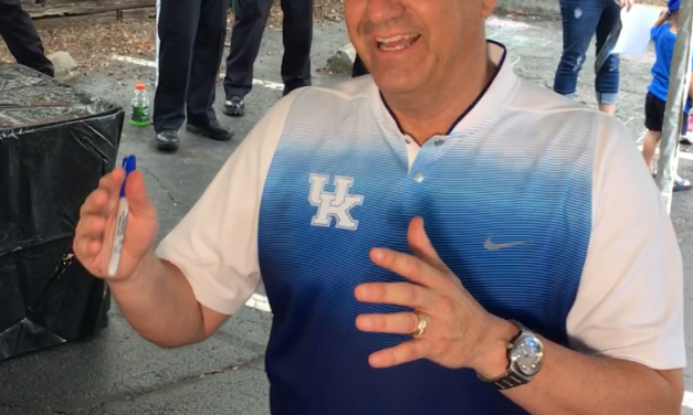 John Calipari is excited for next year's team