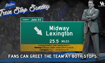 UK MBB Invites Fans to Meet 2018-19 Team on Train Stop Sunday