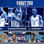 Four Wildcats Selected in the 2018 NBA Draft; Two Go in Lottery
