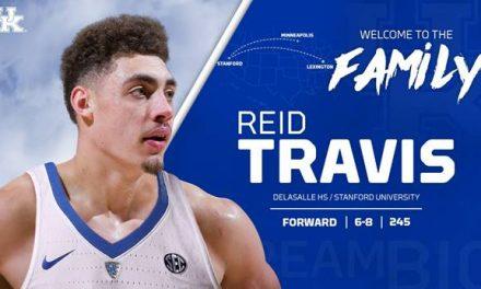 UK Men's Basketball Adds Stanford Grad Transfer Travis to Roster