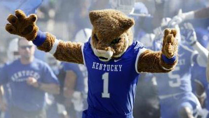 1 DAYS UNTIL KENTUCKY FOOTBALL KICKS OFF