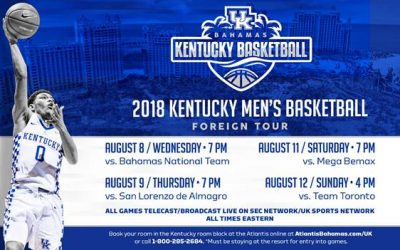 Wildcats' Big Blue Bahamas Games to be Televised by SEC Network