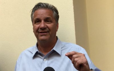 John Calipari, Reid Travis, Quade Green & Duane Notice  post Bahamas interviews