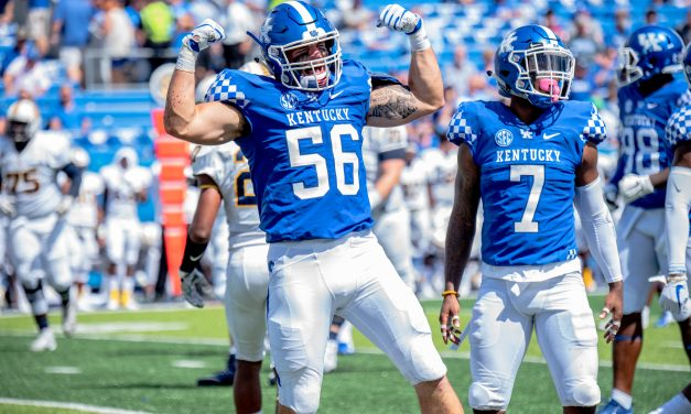Kentucky 48, Murray State 10; highlights, notes, quotes and box score